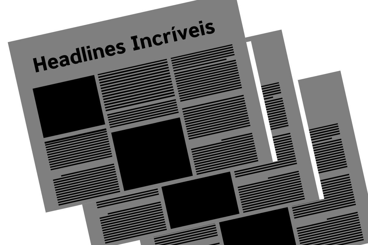 headlines jornal
