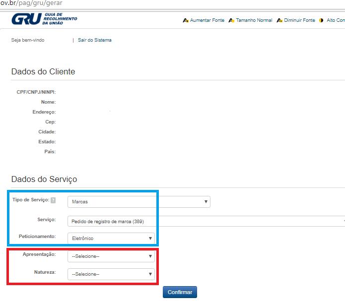 Como registrar a Marca