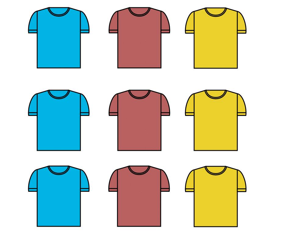 nicho de mercado - camisas
