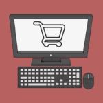 wix funciona - computador com carrinho de compras