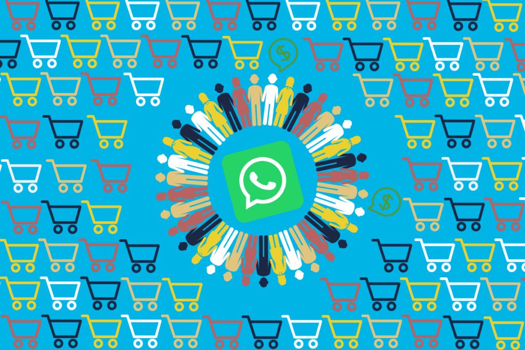 clientes em torno do whatsapp