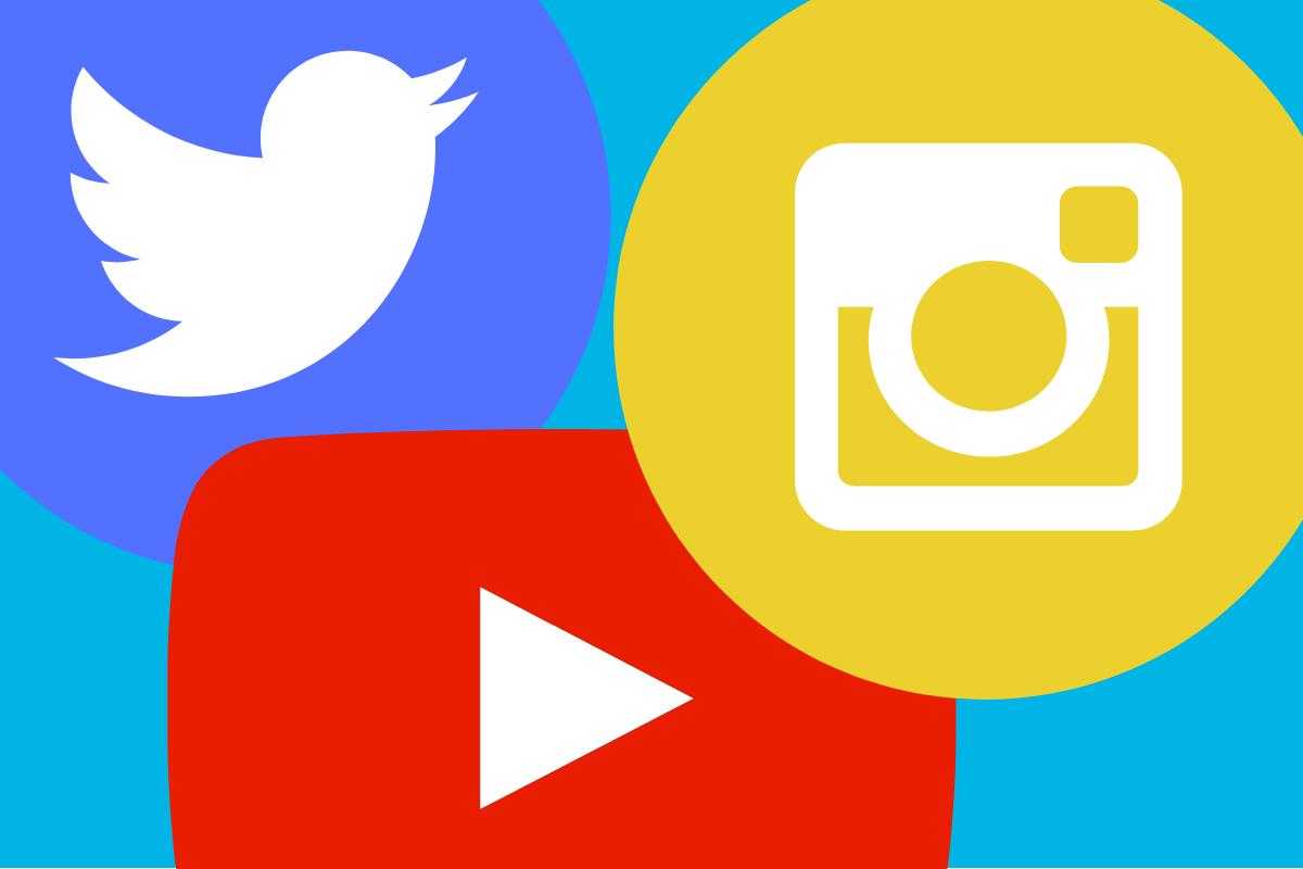redes sociais para influenciadores