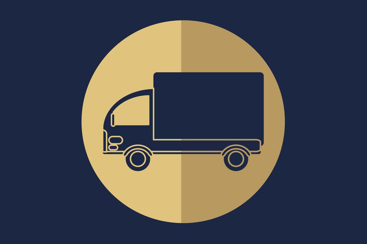 logística reversa - caminhão de entrega
