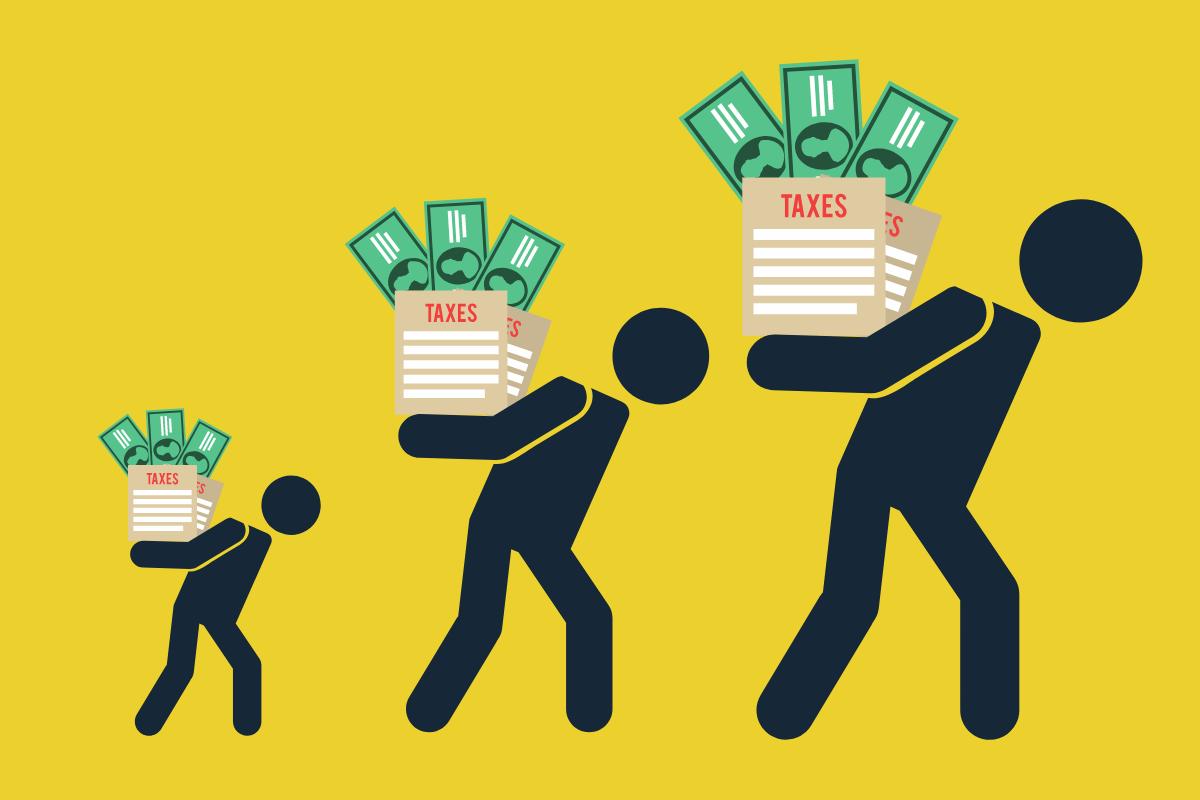 bonecos carregando dinheiro para representar empreendedor
