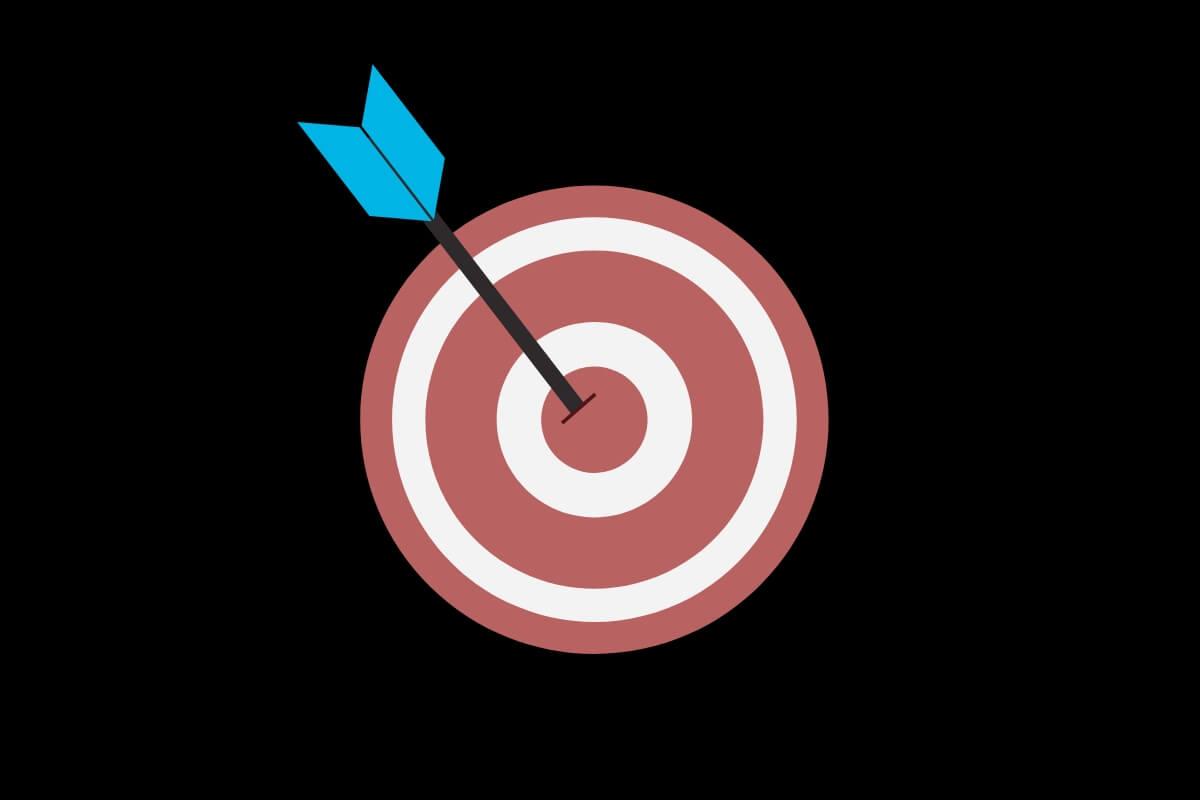 objetivos e metas alvo