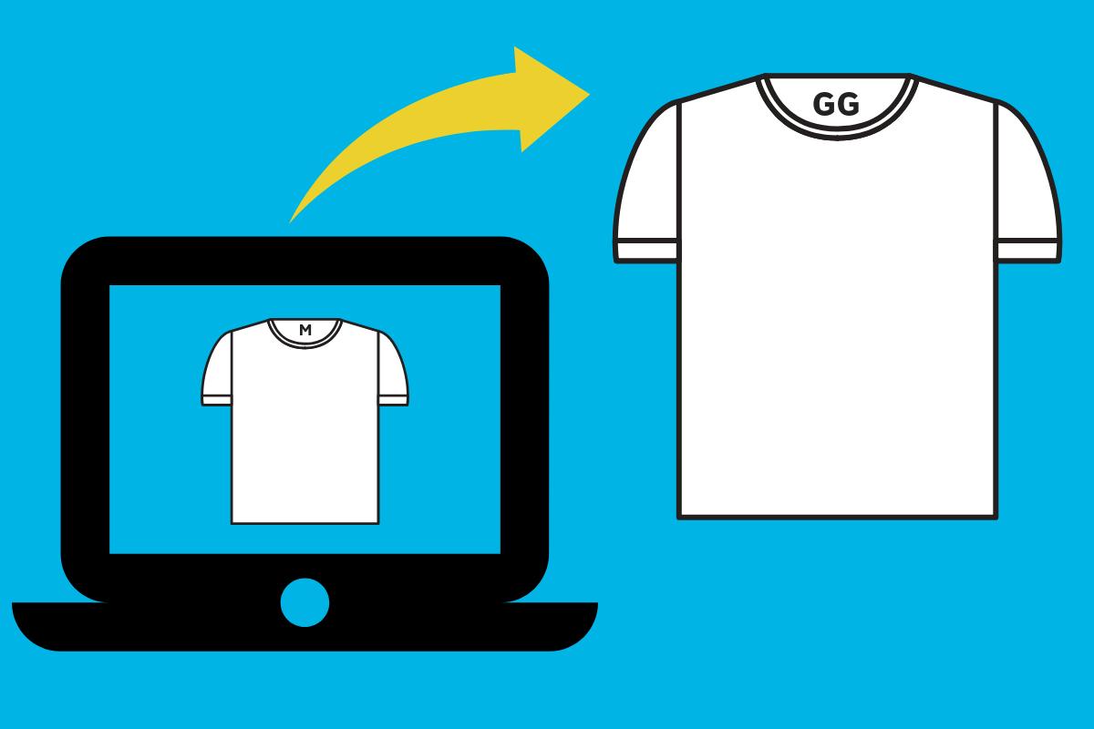 loja de roupas - trocas e devoluções
