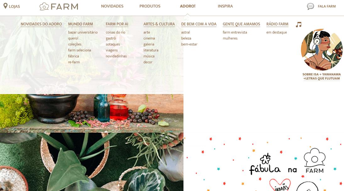 blog da farm que mostra o marketing conteúdo