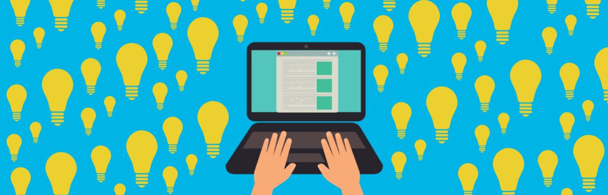 4 ideias Criativas para Produzir Conteúdo
