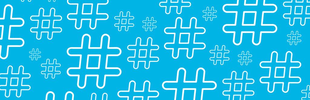 simbolo das hashtags