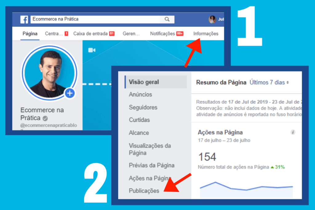 facebook insights exemplo 1