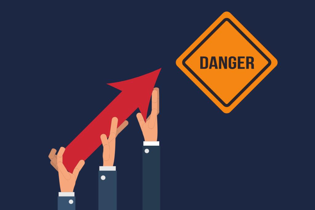 Perigo no crescimento exponencial
