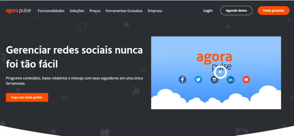 redes sociais agorapulse