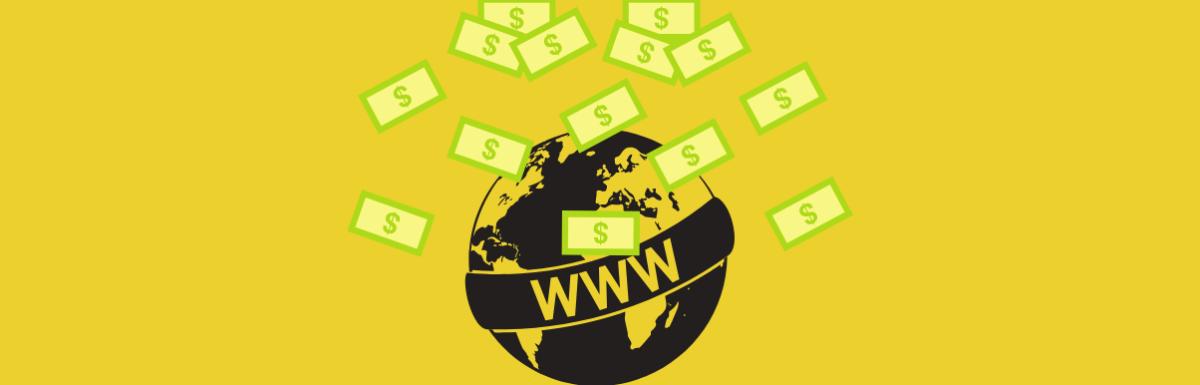 10 Formas de começar a ganhar dinheiro na Internet