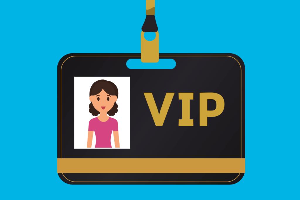 frete grátis para VIP