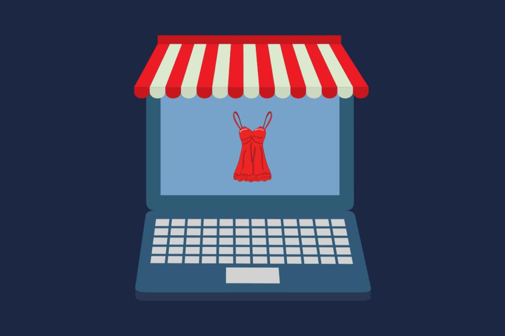 loja virtual de lingerie