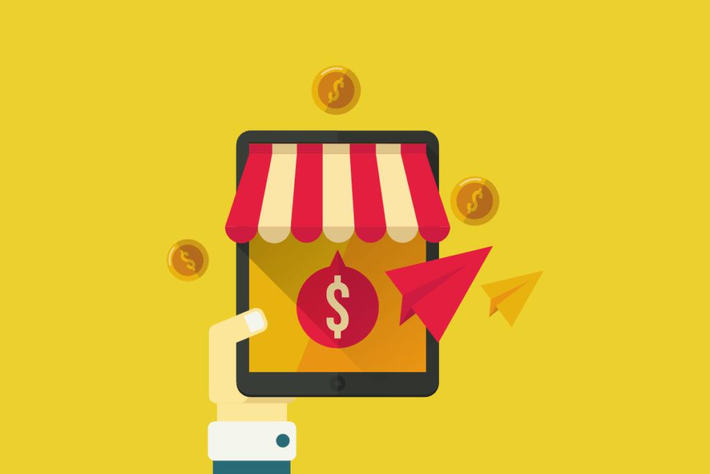 ganhar dinheiro sem sair de casa vendendo produtos online