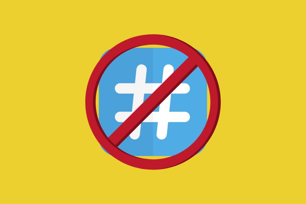 hashtags proibidas pelo shadowban