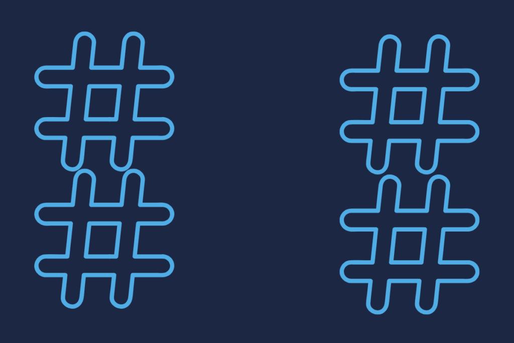 use hashtags no twitter para negócios