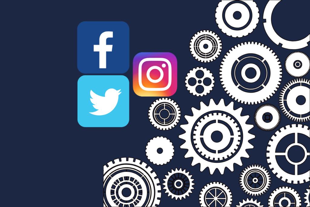 integração das redes sociais