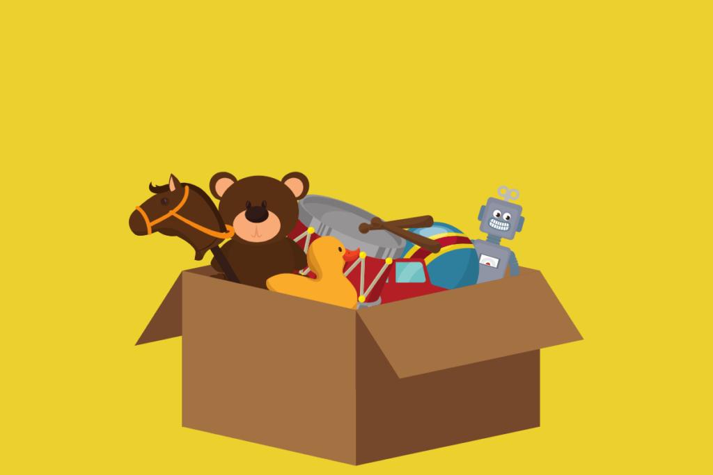 brinquedos e produtos infantis