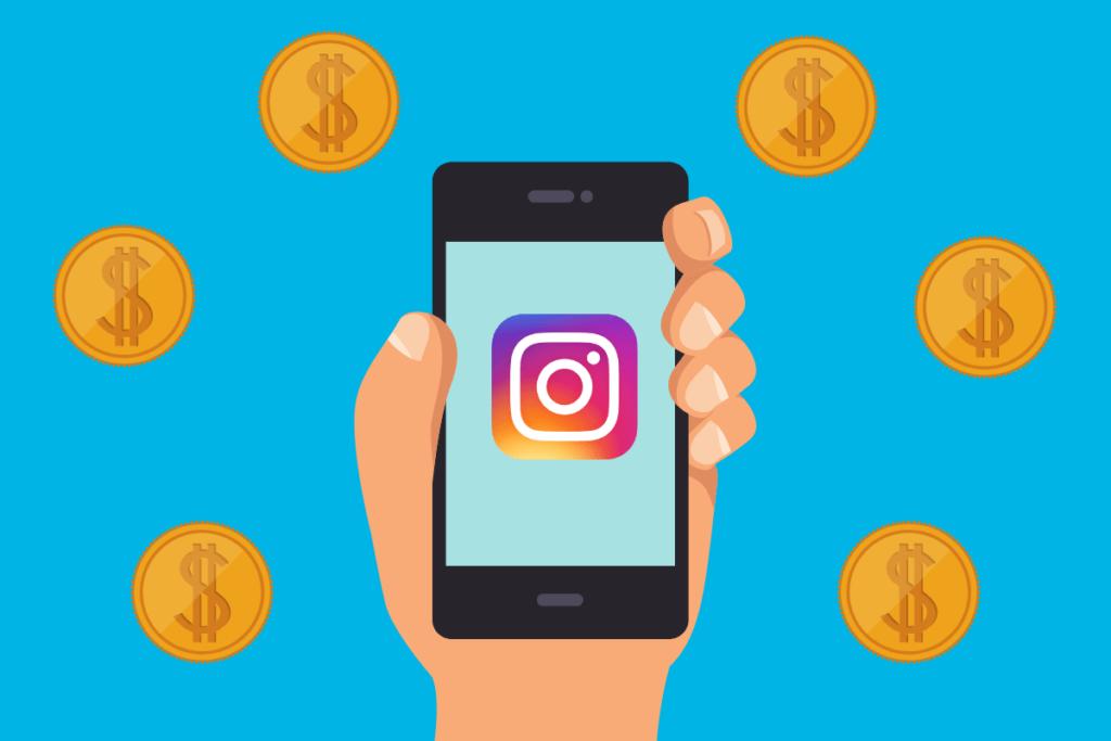 ganhar dinheiro no Instagram - 4 maneiras