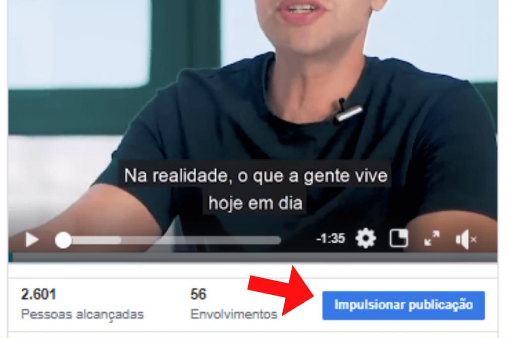 Anúncio do Facebook Ads