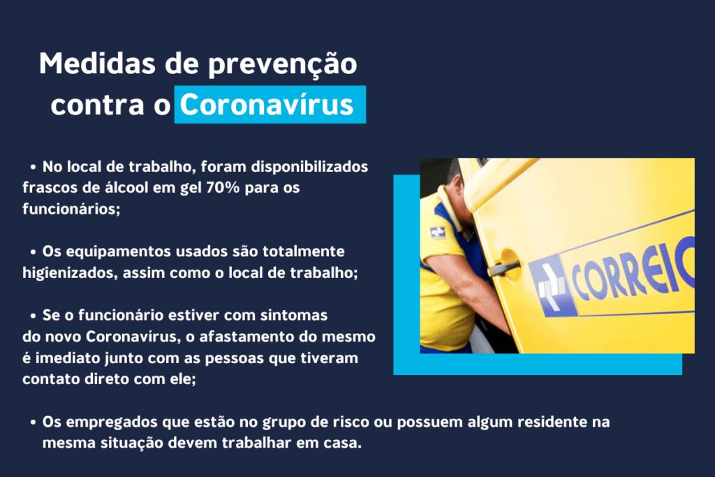logistica de entrega coronavirus - correios