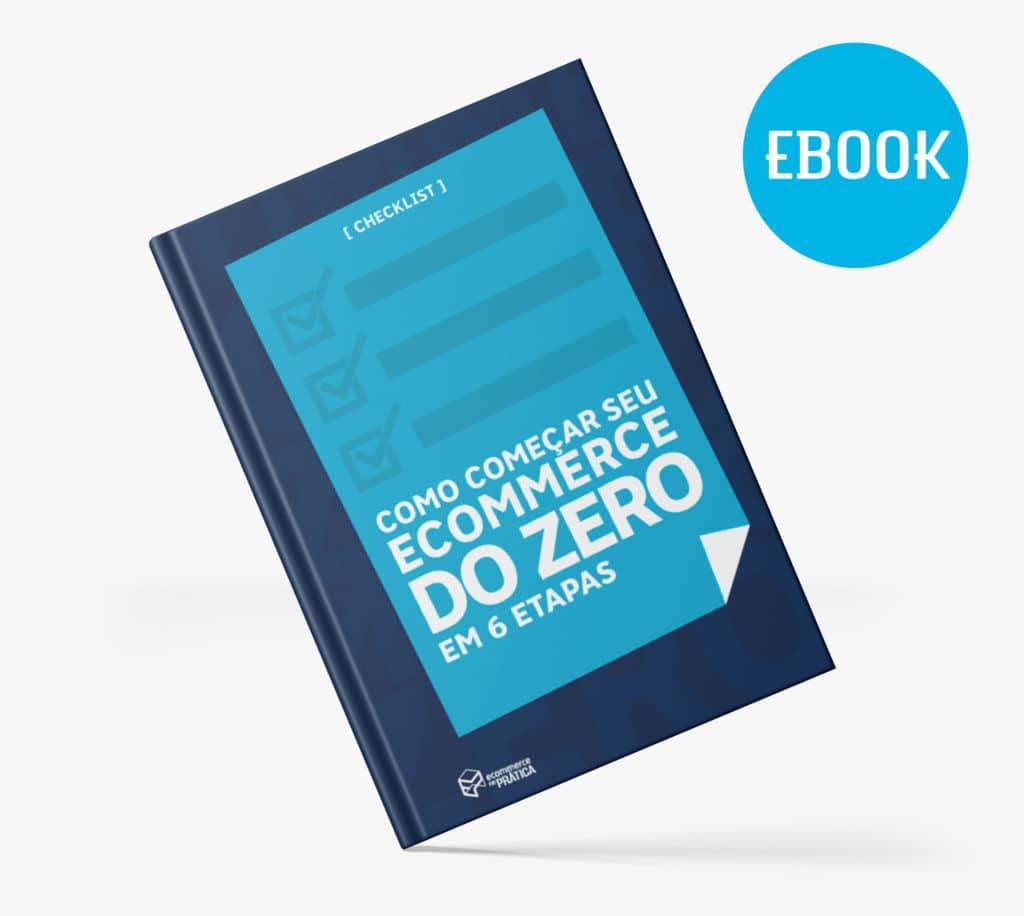 banner com imagem representativa do checklist gratuito com os passos para criar um Ecommerce do Zero