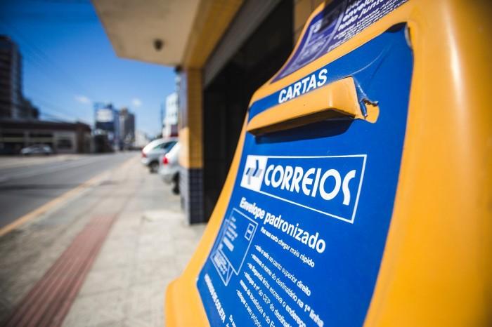greve dos correios