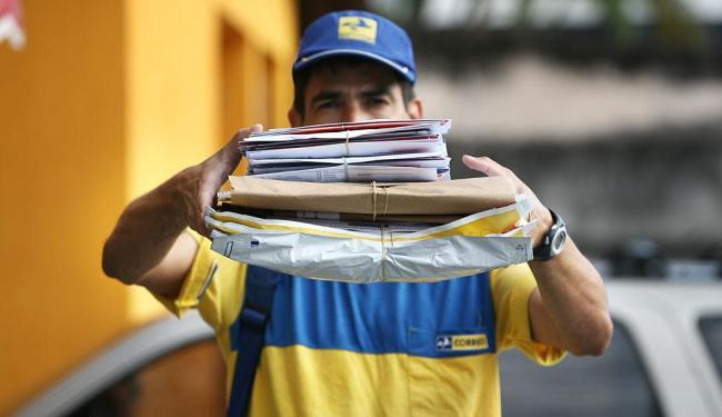 contrato com os correios